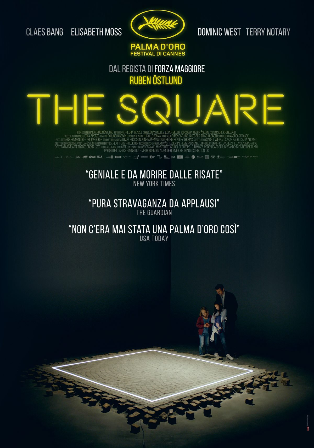 the square film