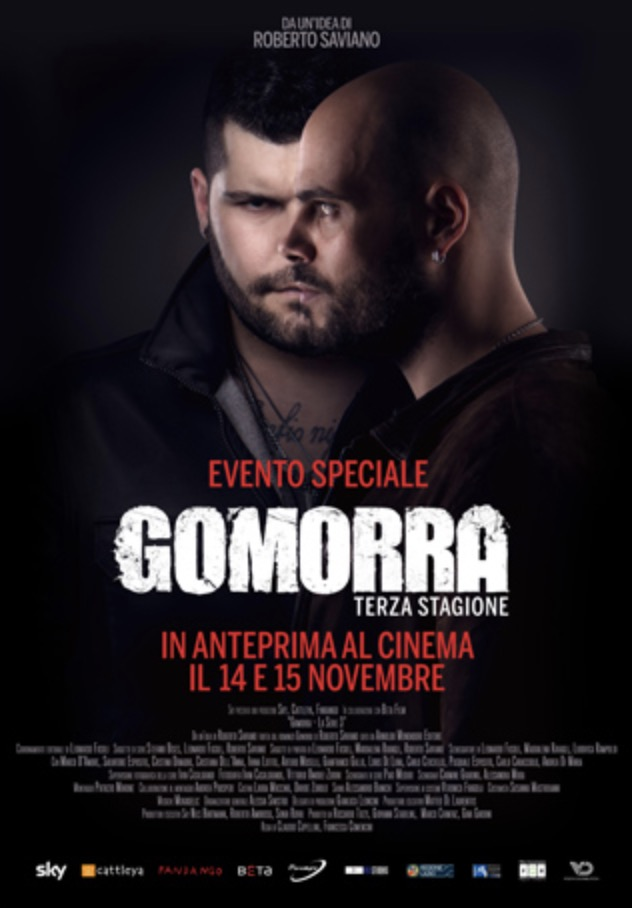 Gomorra 3 al cinema Roma