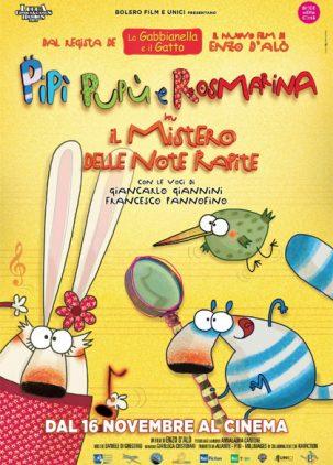 Poster Pipì Pupù e Rosmarina in Il Mistero delle Note Rapite